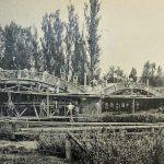 Bau der Elbbachbrücke