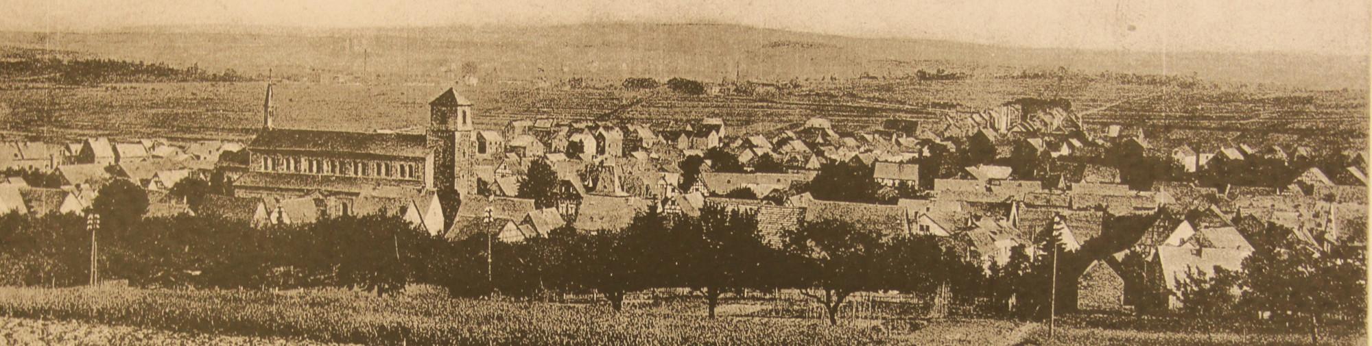 Dorfansicht vom Schnatzeberg