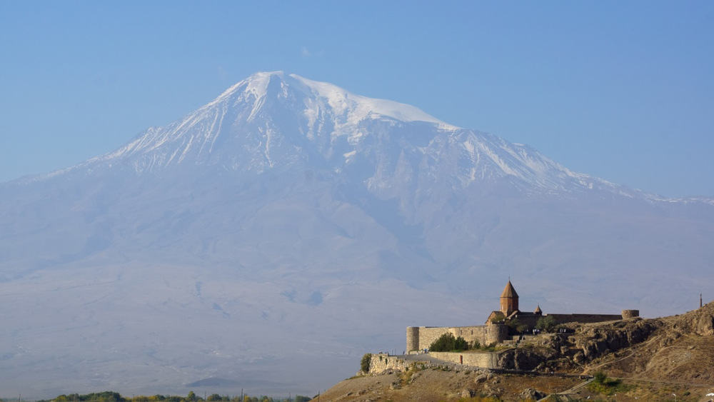 Kloster Chor Virap vor dem Berg Ararat