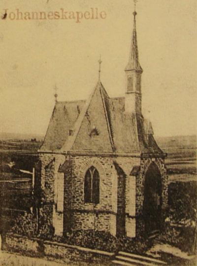 """Elzer Johannestag """"Gehannsdoag"""" Johanneskapelle vor 1908"""