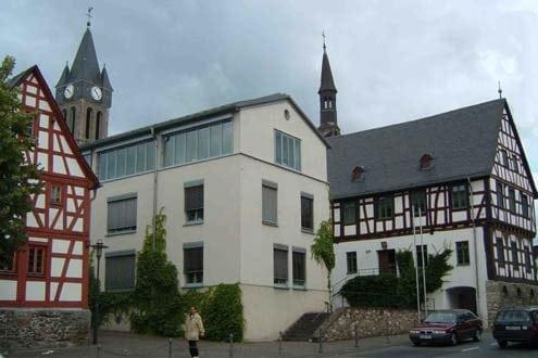 Ensemble Altes Rathaus - Neues Rathaus - Stricksine Haus